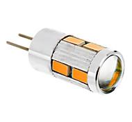 5W G4 LED a pannocchia T 10 SMD 5730 480 lm Bianco caldo DC 12 V