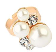Korea Style Pearl Adjustble Ring