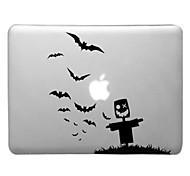 Scarecrow and Sea Mew Pattern Transparent PC Hard Case for MacBook Air (Assorted Colors)