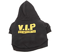 Cool VIP Very Important Pup Pattern Coat with Hoodie for Pets Dogs (Assorted Sizes)