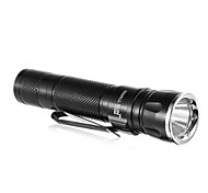 SMALLSUN ZY-C89 Single-Mode Cree XP-E Q3 LED Flashlight with Clip (240LM, 1xAA, Black)