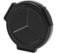 NEWYI casquillo de lente automático para Panasonic DMC-LX5 (Negro)