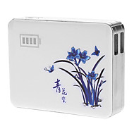 Fashionable and Portable Blue and White Porcelain Power Bank for Smart Phones