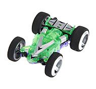 Wltoys Mini RC Racing Car with Cardboard (Green & Purple)