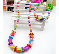 Niña de colores Juego de joyería creativa (collar y pulsera) (color al azar)