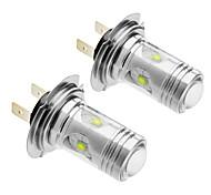 LED-Autolichter (12V-24V, 2 Stück) H7 25W Cree 1400LM 5500-6500K