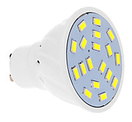 GU10 7W 18 SMD 5630 570 LM Warm White / Cool White LED Spotlight AC 220-240 V