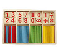 Mathematical intelligence bamboo stick classic toys