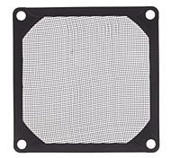 GRM80-AL01-BK 8cm Filtre Fan Aluminium