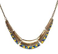 Weinlese-Legierungs-Dreieck-Halsketten