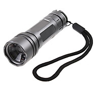 Silver Waterproof Creeq5 Led Camping Lantern Flashlight torch Lamp 180 Lumens 3-Mode