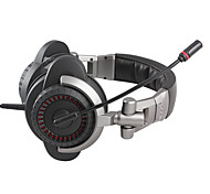 Somic E95V2010 Foldable Stereo Gaming USB Over-Ear Headphone with Mic and Remote for PC