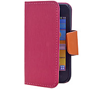 Cross Grain PU Leather Full Body Case for Samsung Galaxy i9000(Assorted Color)