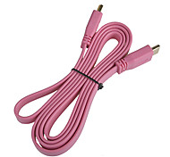 150cm HDMI v1.4 Flat Connection Cable for Samsung