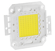 DIY 70W 5550-5600LM 2100mA 6000-6500K Cool White Luz Módulo LED integrado (30-36V)