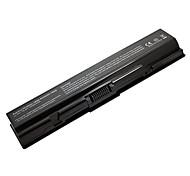 Reemplazo 5200mah batería para portátil Toshiba A200 A300 3534 L300 L500 L505D PA3533U-1BRS PA3533U-1BAS PA3534U-1BAS - Negro