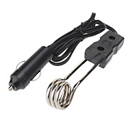 In-Car Kettle Heating Wire Immersion Heater Deluxe with Car Charger (DC 24V)