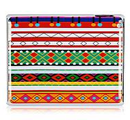 Ethnic Art-Muster Kunststoff zurück Fall für iPad 2/3/4