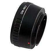 EMOLUX Olympus OM Lente Para Sony NEX-3 NEX-5 NEX-7 NEX-VG10 E adaptador de montagem NOVO