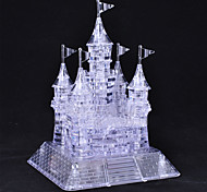 105 Pieces Crystal Musical 3D Castle  Puzzles