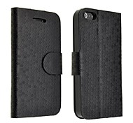 Football Pattern PU Leather Case for iPhone 5/5S