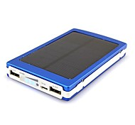 10000mAh Solar Charge External Battery for iphone6/6plus/5S Samsung S4/5 HTC and other Mobile Devices