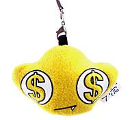 Желтый Слиток Shaped Плюшевые подвеска игрушек