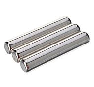 D5 x 25mm Leistungsstarke NdFeB Magnete - Silber (3 PCS)