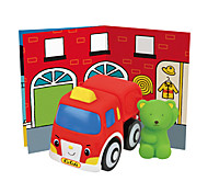 Popbo Vehicles - Sam Fire Engine Model Toy (Red)