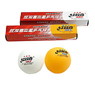 Double Happiness 6x ITTF Approved 3-Stars Ping Pong Table Tennis Ball