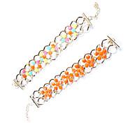 Gothic 5.45cm Women's Multicolor Alloy Friendship Bracelet (Orange,Black,Pink,Blue,Multicolor) (1 Pc)