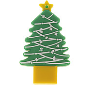 4G Christmas Tree Shaped USB Flash Drive