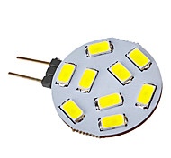 G4 3W 9 SMD 5730 120-150 LM Cool White LED Spotlight V