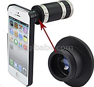 Angibabe 8X Optical Zoom 18mm Lens Mobile Phone Telescope for iphone 5