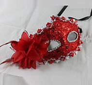 Deluxe Aristocrat PVC Venetian Half Face Mask
