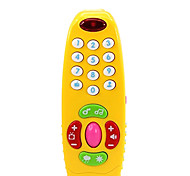 Multifunctional Musical Luminous Remote Control Toy for Kids(Random Color)