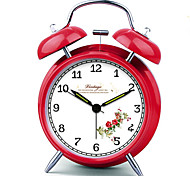"6.5""H Mute Luminous Metal Alarm Clock with Light"