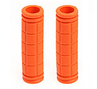 Orange Fixed Gear Grips Handlebar