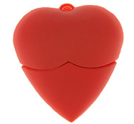 4G Loving Heart Shaped USB Flash Drive