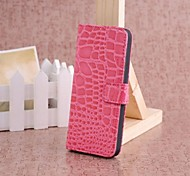 Luxury Alligator Pattern Wallet Case Wallet Leather Case for iPhone 5/5S  (Assorted Colors)