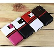 Special Design 2 in 1 cassa di cuoio del litchi dell'unità di elaborazione con slot per schede e supporto per iPhone5/5S