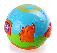 Funny Musical Colorful Farm Pattern Ball for Kids