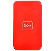Qi Wireless Charger Red Pad ricarica con ricevitore blu per Samsung Galaxy Nota 2 N7100