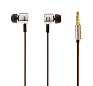 Brand Xiaomi Piston Metal In-Ear Earphones with Remote & Mic for iPhone/Samsung/HTC/PC