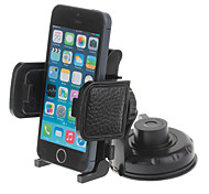 360 Degree Rotatable Universal Suction Cup Car Mount Holder Bracket for GPS / PDA – Black