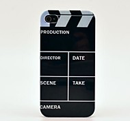 Video Production Pattern Hard Case  for iPhone 4/4s