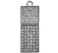 Diamond Feature Metal USB Flash Drive 32G