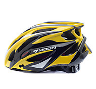MOON Cycling Yellow+Black PC+EPS 25 Vents MTB Protective Helmet
