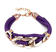 Leather Bracelet Fashion Multilayer Wrap Bracelet