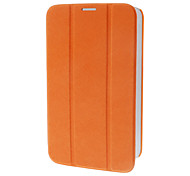 Tri-Fold Faux Leather Flip Case with Stand for Samsung Galaxy Tab3 P3200